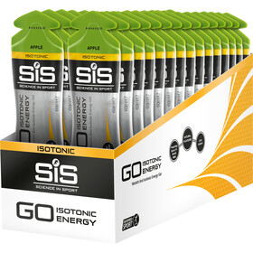SiS GO Isotonic Energy Gel Sacoche 30x60ml, Apple
